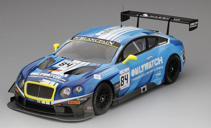 Bentley Continental GT3 #84 Blancpain GT Series Sprint Cup Moscow City Racing 2015 by true-scale-miniatures