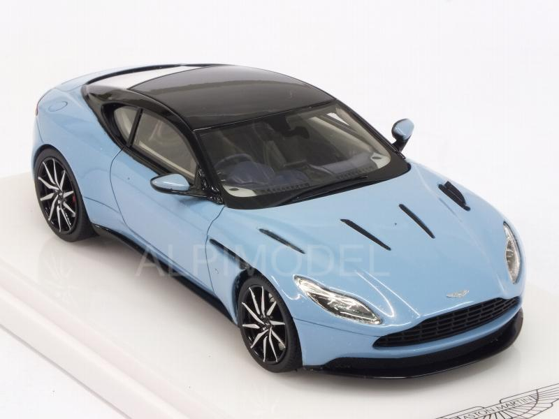 Aston Martin DB11 2016 (Frosted Glass Blue) - true-scale-miniatures