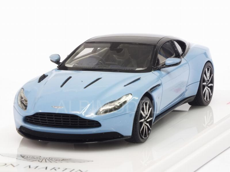 Aston Martin DB11 2016 (Frosted Glass Blue) by true-scale-miniatures