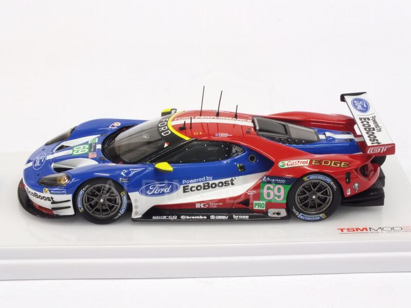 Ford GT LMGTE PRO Team Ganassi USA #69 Le Mans 2016 Briscoe - Westbrook - Dixon - true-scale-miniatures