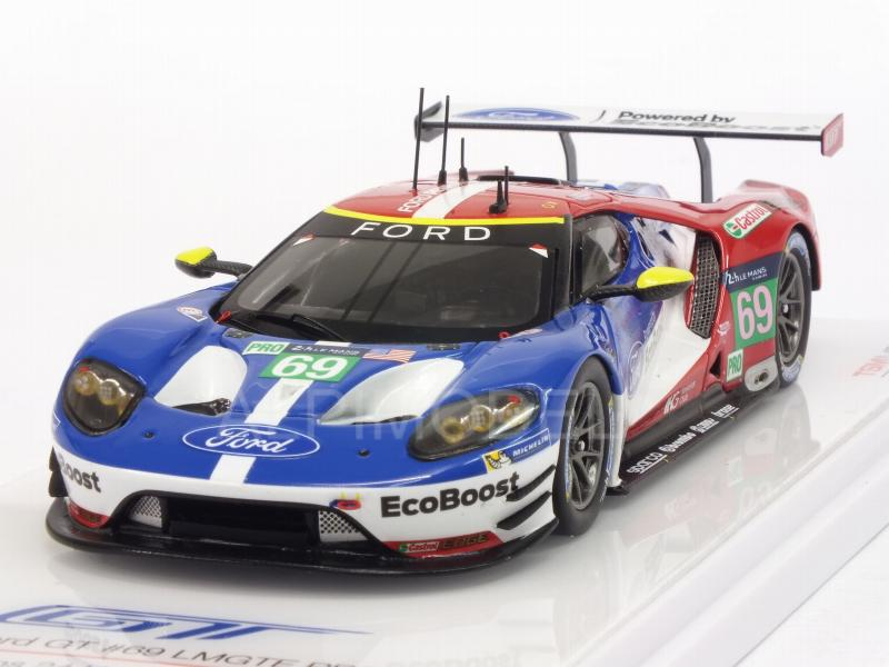 Ford GT LMGTE PRO Team Ganassi USA #69 Le Mans 2016 Briscoe - Westbrook - Dixon by true-scale-miniatures