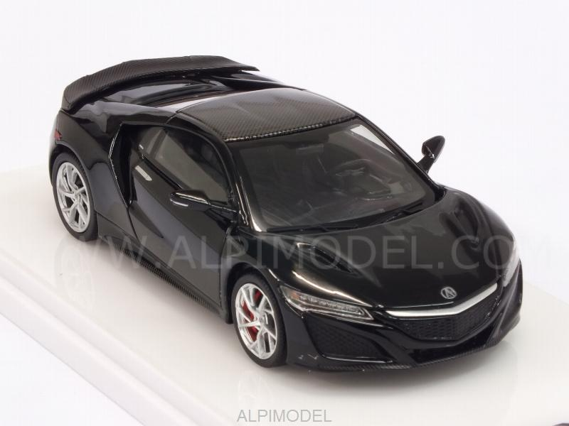 Acura NSX Berlina 2017 Black Carbon Fiber Sport Package - true-scale-miniatures