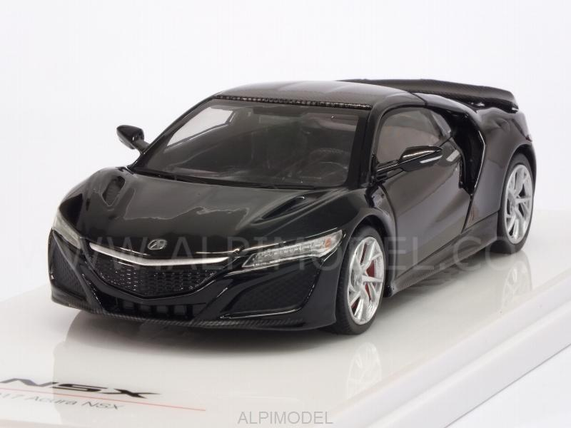 Acura NSX Berlina 2017 Black Carbon Fiber Sport Package by true-scale-miniatures