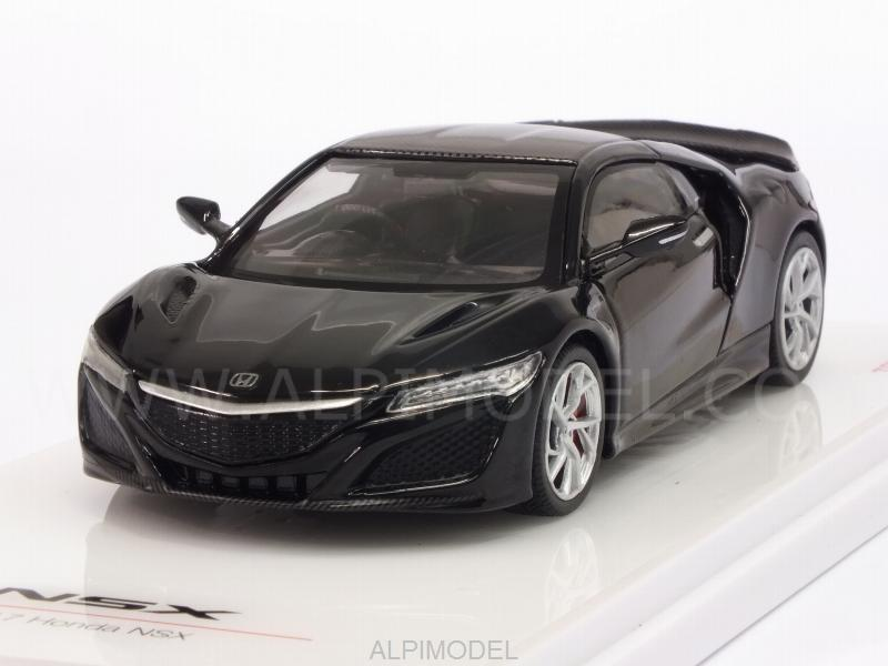 Honda NSX Berlina 2017 Black Carbon Fiber Sport Package by true-scale-miniatures