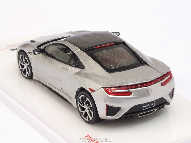 Acura NSX 2017 (Silver) - true-scale-miniatures