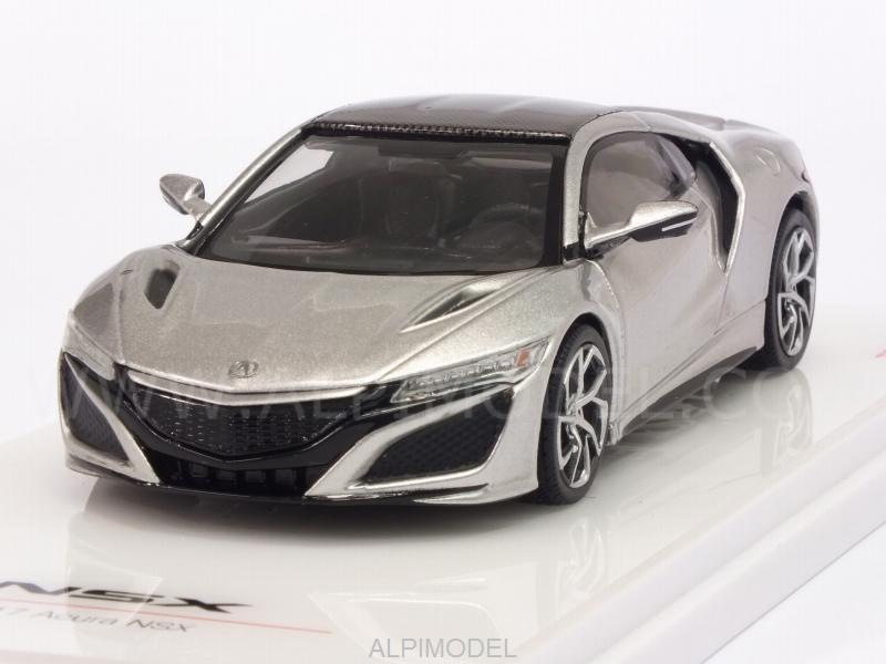Acura NSX 2017 (Silver) by true-scale-miniatures