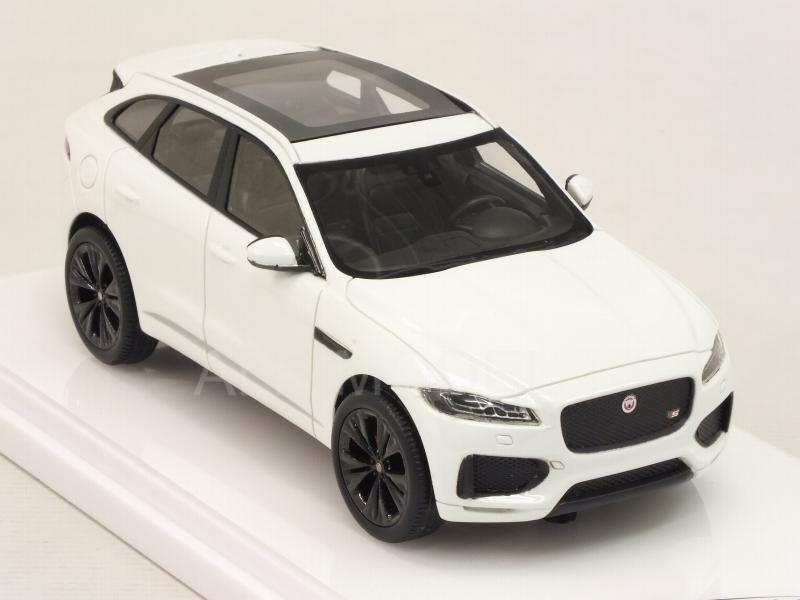 Jaguar F-Pace 2016 (Polaris White) - true-scale-miniatures
