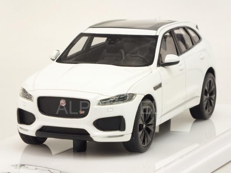 Jaguar F-Pace 2016 (Polaris White) by true-scale-miniatures