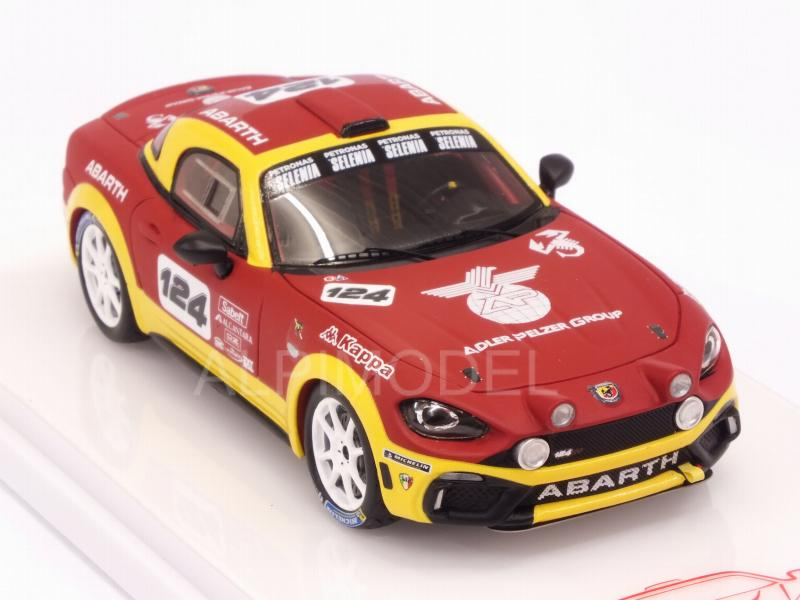 Abarth 124 Spider Rally #124 - true-scale-miniatures