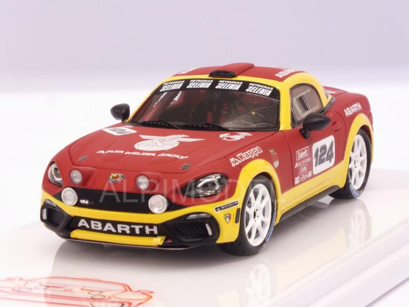 Abarth 124 Spider Rally #124 by true-scale-miniatures