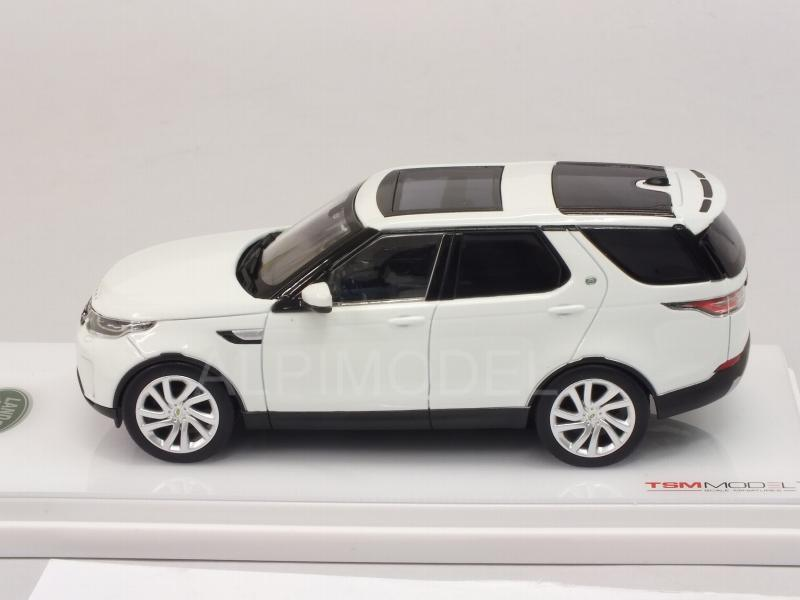 Land Rover Discovery 2015 (Fuji White) - true-scale-miniatures