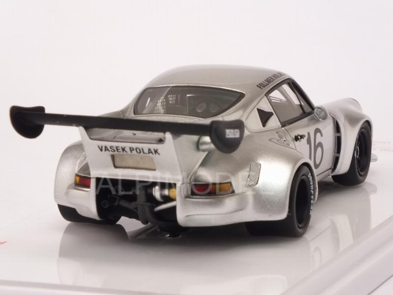 Porsche 911 Carrera RSR Turbo Vasek Polak Racing #16 IMSA Mid Ohio 1977 Follmer - Holmes - true-scale-miniatures