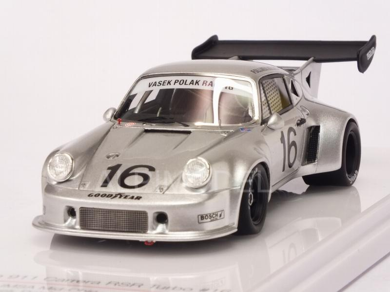 Porsche 911 Carrera RSR Turbo Vasek Polak Racing #16 IMSA Mid Ohio 1977 Follmer - Holmes by true-scale-miniatures