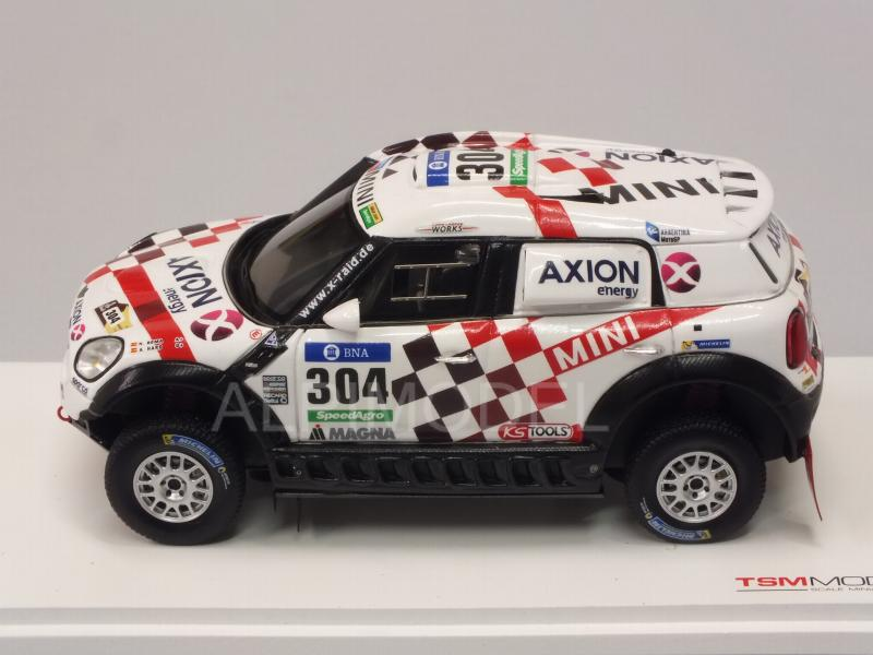 Mini ALL4 Racing Axion X Raid Team #304 Rally Dakar 2016 - true-scale-miniatures