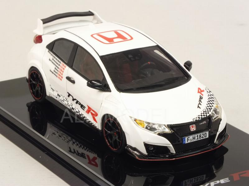 Honda Civic Type R 2016 Five European Tracks Front-wheel Drive Record - true-scale-miniatures