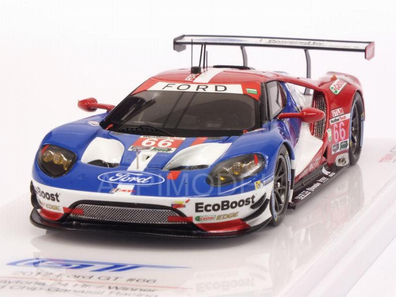Ford GT Ganassi Racing #66 Winner 24h Daytona 2017 by true-scale-miniatures