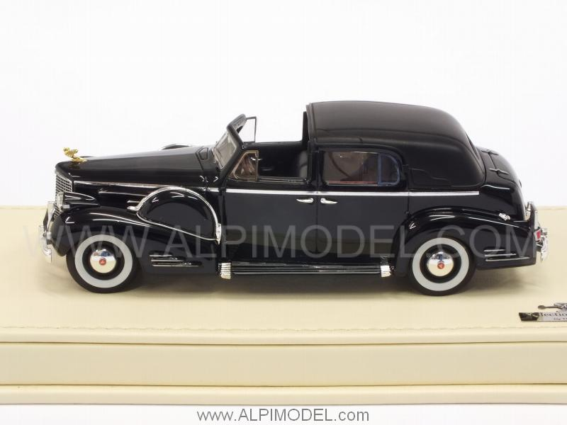Cadillac Series 90 V16 Town Car 1938 (Black) - true-scale-miniatures