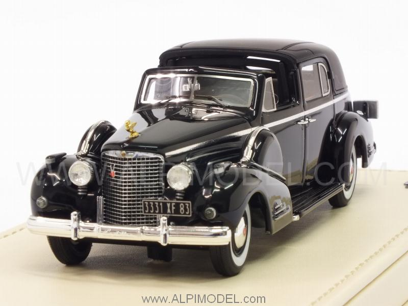 Cadillac Series 90 V16 Town Car 1938 (Black) by true-scale-miniatures