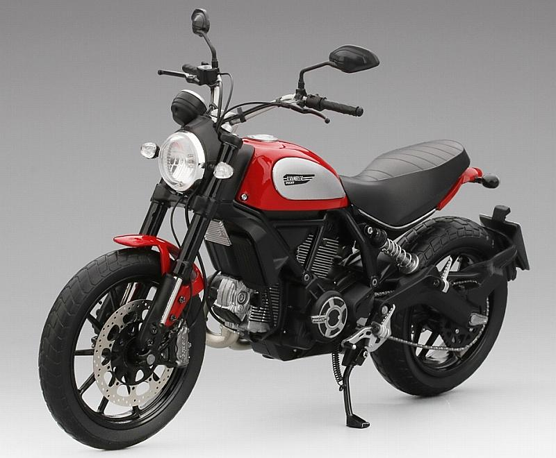 Ducati Scrambler 2015 (Rosso Ducati) by true-scale-miniatures