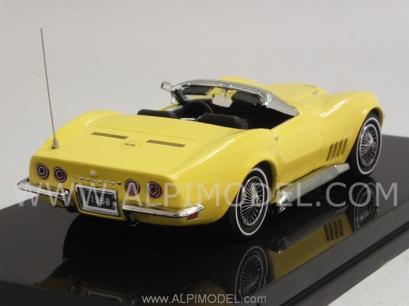 Chevrolet Corvette Convertible 1968 (Yellow) - vitesse