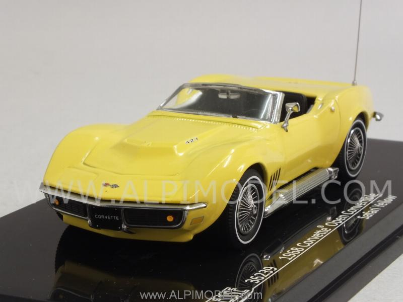 Chevrolet Corvette Convertible 1968 (Yellow) by vitesse