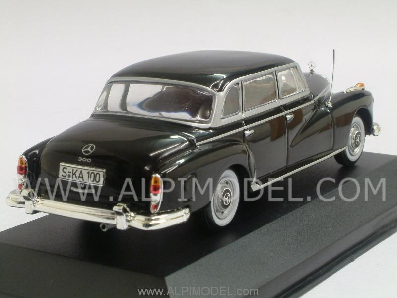 Mercedes 300 D 1957 (Black) - whitebox