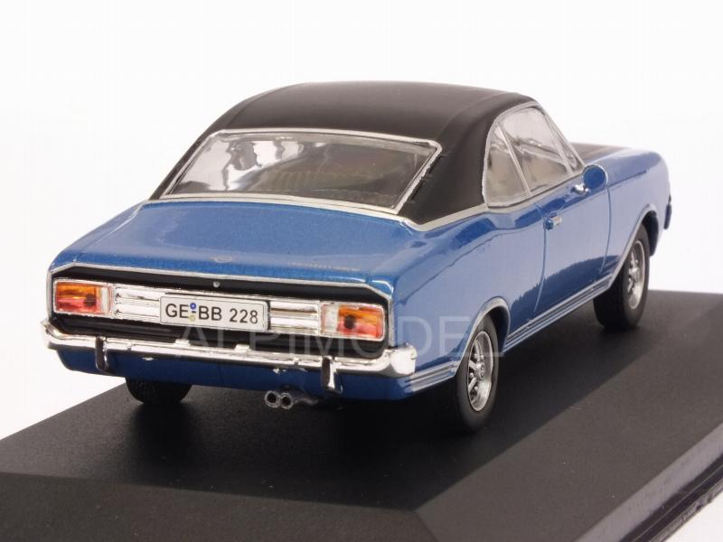 Opel Commodore A Coupe GS/E 1970 (Blue/Black) - whitebox