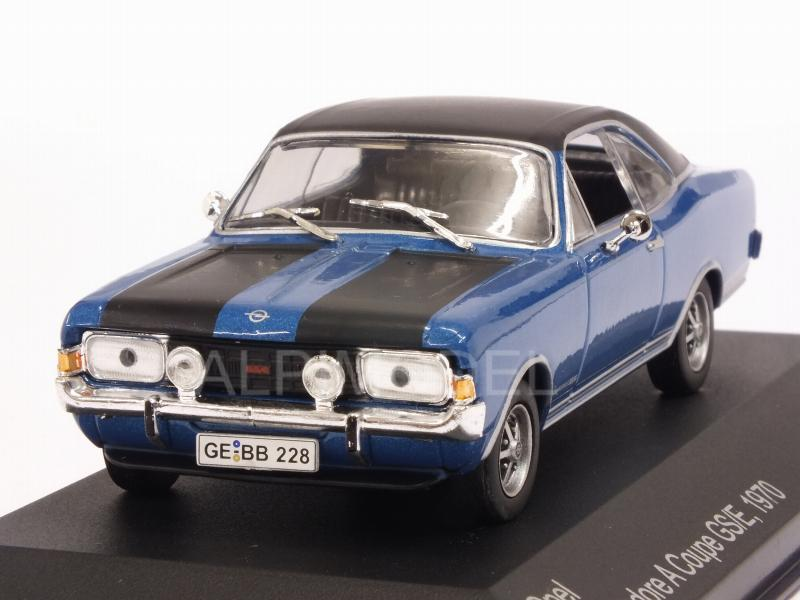 Opel Commodore A Coupe GS/E 1970 (Blue/Black) by whitebox