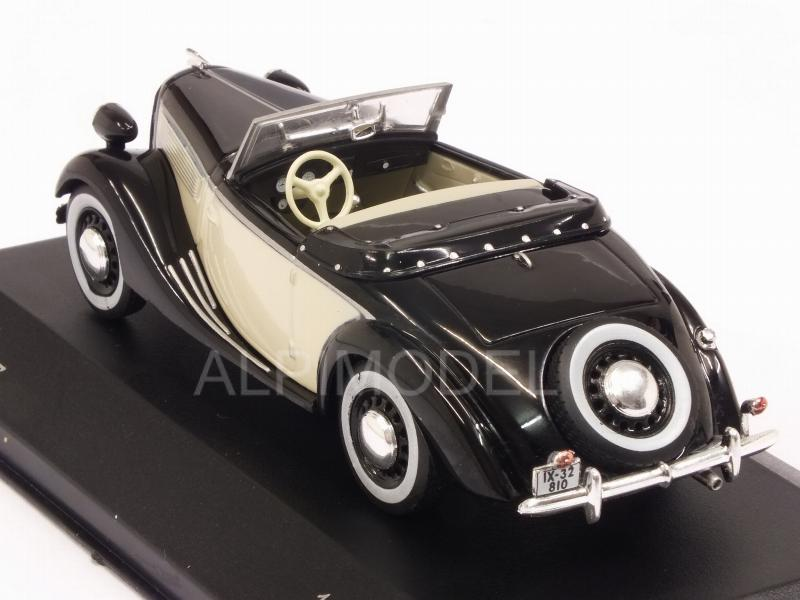 Opel Super 6 Spider 1937 (Black/Beige) - whitebox