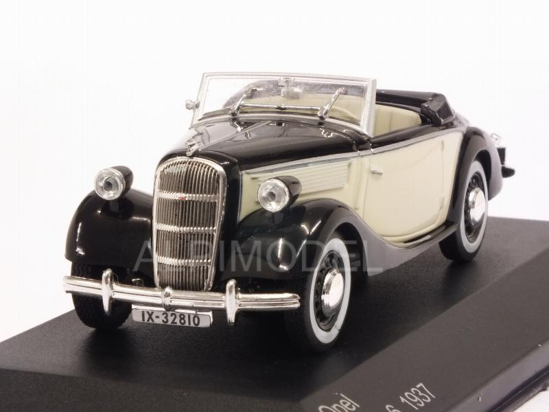 Opel Super 6 Spider 1937 (Black/Beige) by whitebox