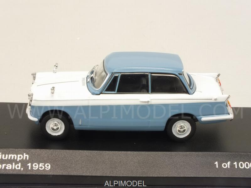 Triumph Herald 1959 (Light Blue/White) - whitebox