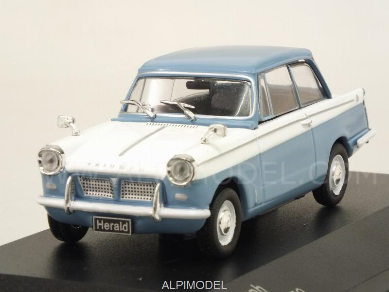 Triumph Herald 1959 (Light Blue/White) by whitebox