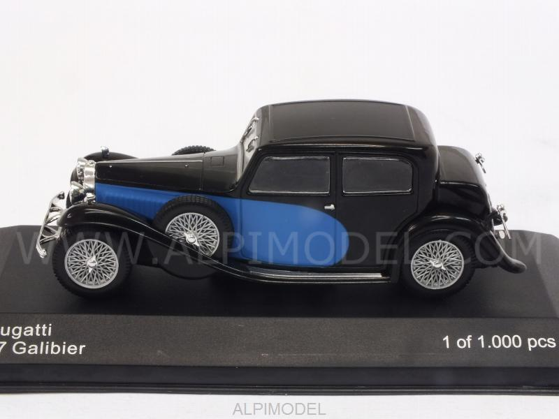 Bugatti 57 Galibier 1934 (Black/Blue) - whitebox