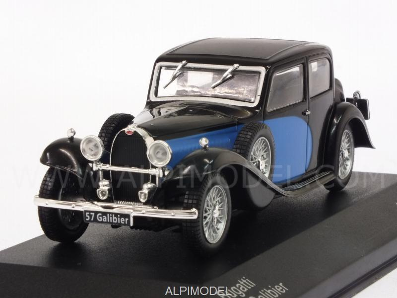 Bugatti 57 Galibier 1934 (Black/Blue) by whitebox