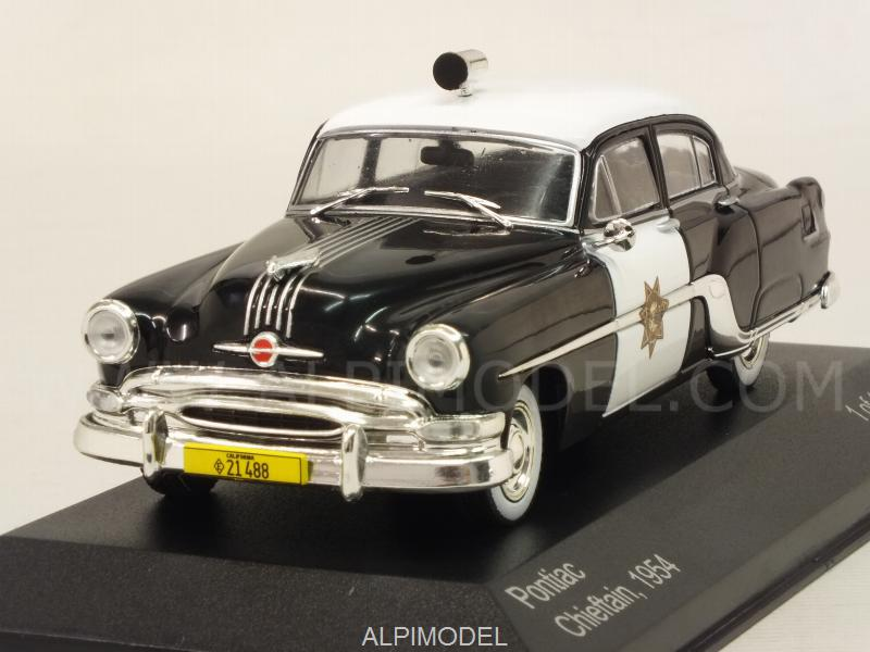 Pontiac Chieftain 1954 California Highway Patrol Police by whitebox
