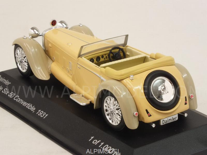 Daimler Double Six 50 Convertible 1931 (Beige) - whitebox