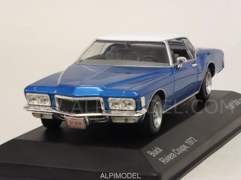 Buick Riviera Coupe 1972 (Blue/White) by whitebox