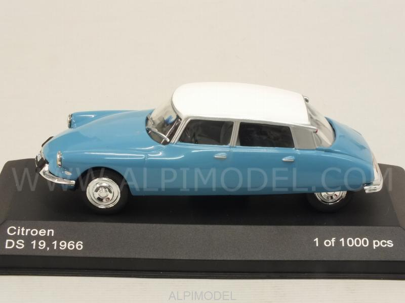 Citroen DS19 1966 (Light Blue) - whitebox