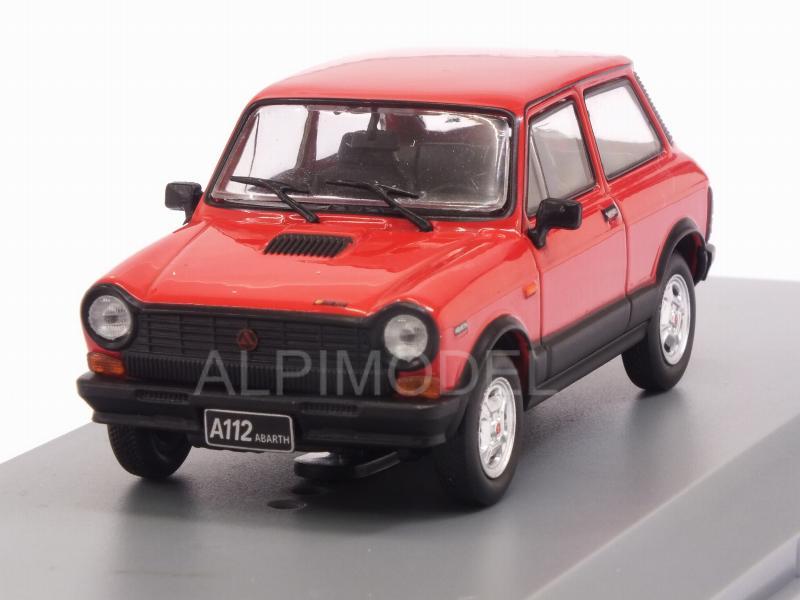 Autobianchi A112 Abarth 1979 Red 1:43 Model WB241 WHITEBOX