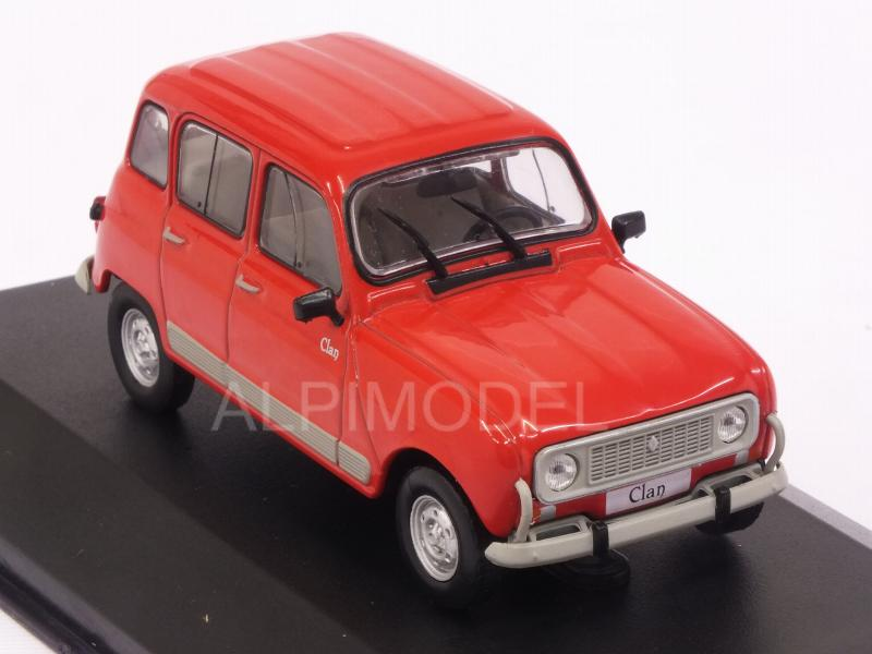 Renault 4 Clan Red 1:43 Model WB270 WHITEBOX