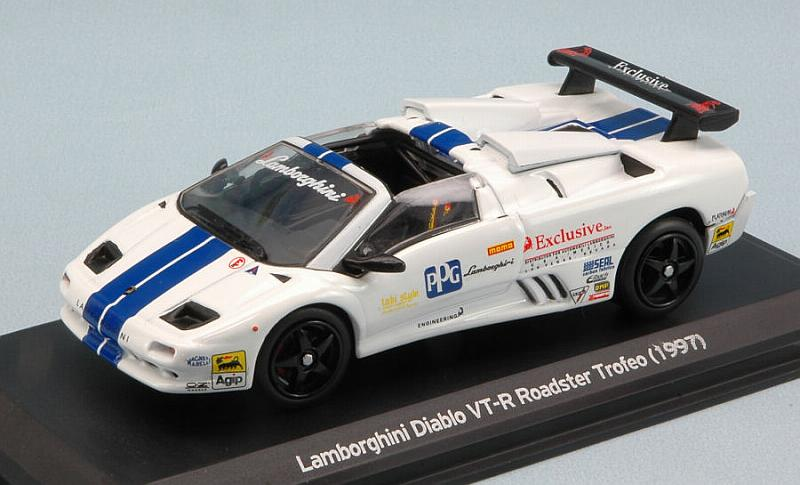 Lamborghini Diablo VT-R Roadster Trofeo 1997 (White) by whitebox