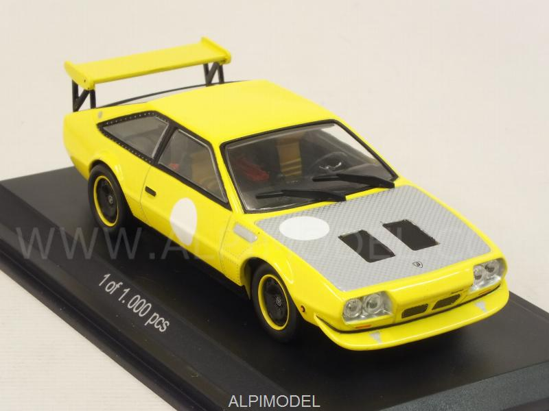 WHITEBOX WB503 Lamborghini Jarama Rally 1973 (Yellow) 1/43
