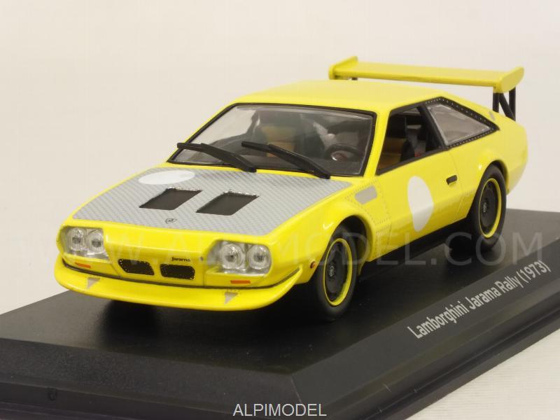Whitebox Wb503 Lamborghini Jarama Rally 1973 Yellow 1 43