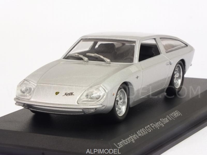 Lamborghini 4000 GT Flying Star II 1966 (Silver) by whitebox