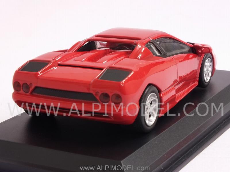 whitebox Lamborghini Acosta 1997 (Red) (1/43 scale model)