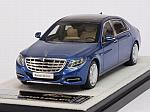 Mercedes S-Class Maybach 2016 (Brilliant Blue) by ALMOST REAL