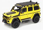 Brabus 550 Adventure Mercedes G500 4x4 (Electric Beam Yellow) by ALMOST REAL
