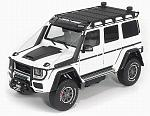 Brabus 550 Adventure Mercedes G500 4x4 White by ALMOST REAL