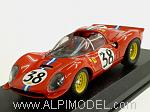 Ferrari Dino 206 S Le Mans 1966 Follmer-Kolb by ART MODEL.