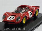 Ferrari Dino 206S Spider #37 Monza 1966 Biscardi - Casoni by ART MODEL